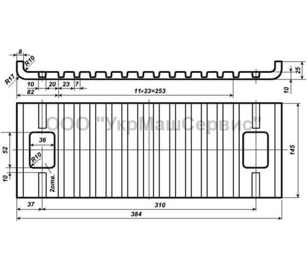 Прокладка резиновая ЦП 328